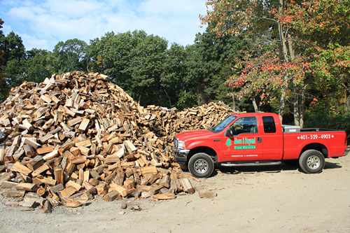 Premium firewood for sale - Above and Beyond Tree Service LLC