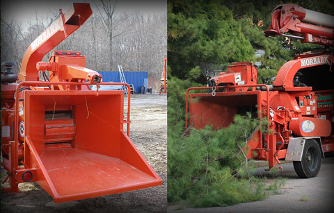 HIGH EFFICIENCY WOOD CHIPPER