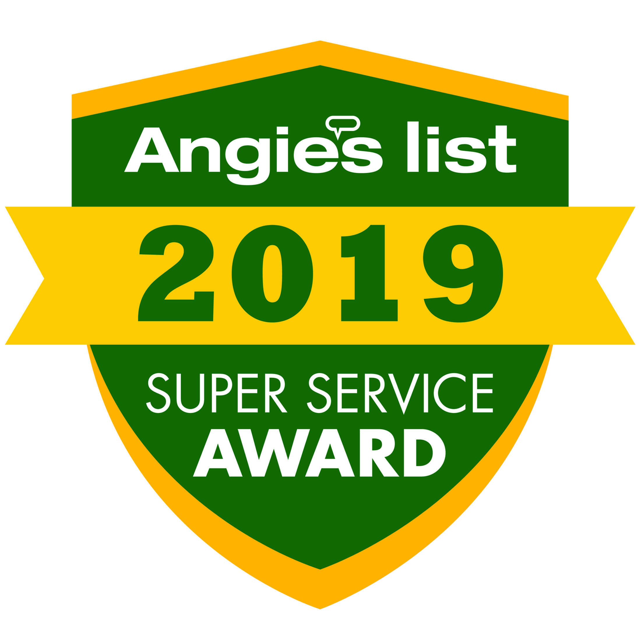 Above & Beyond Tree Service LLC wins 2019 Angie's List Super Service Award!